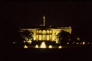 White House by night